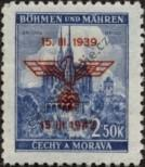 Stamp Protectorate of Bohemia and Moravia Catalog number: 84