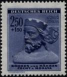 Stamp Protectorate of Bohemia and Moravia Catalog number: 116