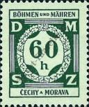 Stamp Protectorate of Bohemia and Moravia Catalog number: 4