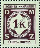 Stamp Protectorate of Bohemia and Moravia Catalog number: 6