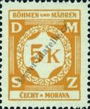 Stamp Protectorate of Bohemia and Moravia Catalog number: 12