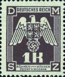 Stamp Protectorate of Bohemia and Moravia Catalog number: 18