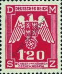 Stamp Protectorate of Bohemia and Moravia Catalog number: 19
