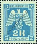 Stamp Protectorate of Bohemia and Moravia Catalog number: 21