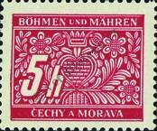 Stamp Protectorate of Bohemia and Moravia Catalog number: 1