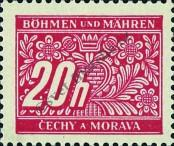 Stamp Protectorate of Bohemia and Moravia Catalog number: 3