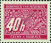 Stamp Protectorate of Bohemia and Moravia Catalog number: 5