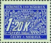 Stamp Protectorate of Bohemia and Moravia Catalog number: 10