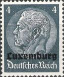 Stamp Luxembourg (German occupation) Catalog number: 2