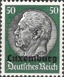 Stamp Luxembourg (German occupation) Catalog number: 13