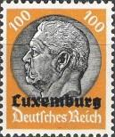 Stamp Luxembourg (German occupation) Catalog number: 16