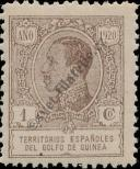 Stamp Spanish Territories of the Gulf of Guinea Catalog number: 83