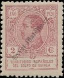 Stamp Spanish Territories of the Gulf of Guinea Catalog number: 84