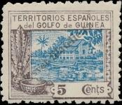 Stamp Spanish Territories of the Gulf of Guinea Catalog number: 109