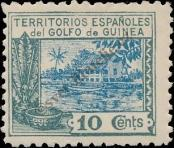 Stamp Spanish Territories of the Gulf of Guinea Catalog number: 110