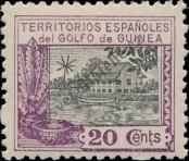 Stamp Spanish Territories of the Gulf of Guinea Catalog number: 112