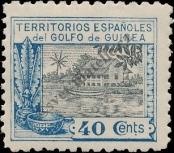 Stamp Spanish Territories of the Gulf of Guinea Catalog number: 115