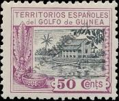 Stamp Spanish Territories of the Gulf of Guinea Catalog number: 116