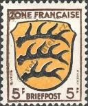 Stamp The French occupation zone of Germany Catalog number: 3
