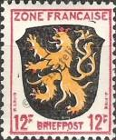 Stamp The French occupation zone of Germany Catalog number: 6