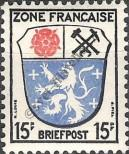 Stamp The French occupation zone of Germany Catalog number: 7