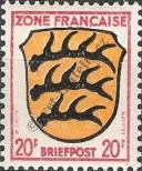 Stamp The French occupation zone of Germany Catalog number: 8