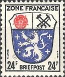 Stamp The French occupation zone of Germany Catalog number: 9