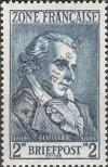 Stamp The French occupation zone of Germany Catalog number: 12