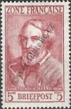 Stamp The French occupation zone of Germany Catalog number: 13