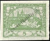 Stamp Czechoslovakia Catalog number: 2