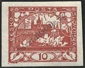 Stamp Czechoslovakia Catalog number: 3