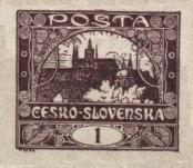 Stamp Czechoslovakia Catalog number: 18