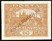 Stamp Czechoslovakia Catalog number: 20