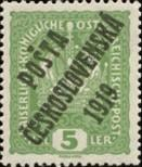 Stamp Czechoslovakia Catalog number: 41