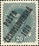 Stamp Czechoslovakia Catalog number: 64