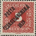 Stamp Czechoslovakia Catalog number: 81