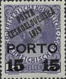 Stamp Czechoslovakia Catalog number: 93