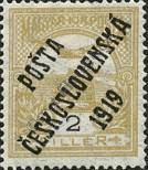 Stamp Czechoslovakia Catalog number: 105