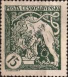 Stamp Czechoslovakia Catalog number: 34/A