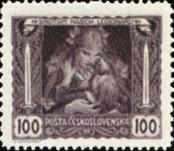 Stamp Czechoslovakia Catalog number: 38/A