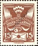 Stamp Czechoslovakia Catalog number: 166