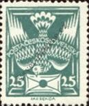 Stamp Czechoslovakia Catalog number: 168