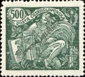Stamp Czechoslovakia Catalog number: 187