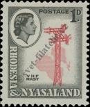 Stamp Federation of Rhodesia and Nyasaland Catalog number: 20