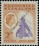 Stamp Federation of Rhodesia and Nyasaland Catalog number: 21