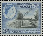 Stamp Federation of Rhodesia and Nyasaland Catalog number: 23