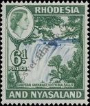 Stamp Federation of Rhodesia and Nyasaland Catalog number: 25