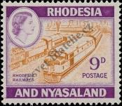 Stamp Federation of Rhodesia and Nyasaland Catalog number: 26