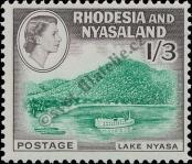 Stamp Federation of Rhodesia and Nyasaland Catalog number: 28