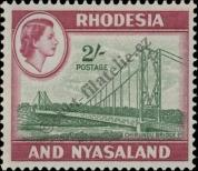 Stamp Federation of Rhodesia and Nyasaland Catalog number: 29